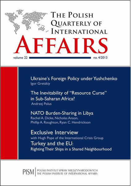 The Polish Quarterly of International Affairs 4/2013