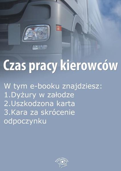 Czas pracy kierowców, wydanie wrzesień 2014 r.