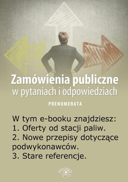 Zamówienia publiczne w pytaniach i odpowiedziach. Wydanie marzec 2014 r.