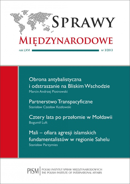 Sprawy Międzynarodowe 3/2013