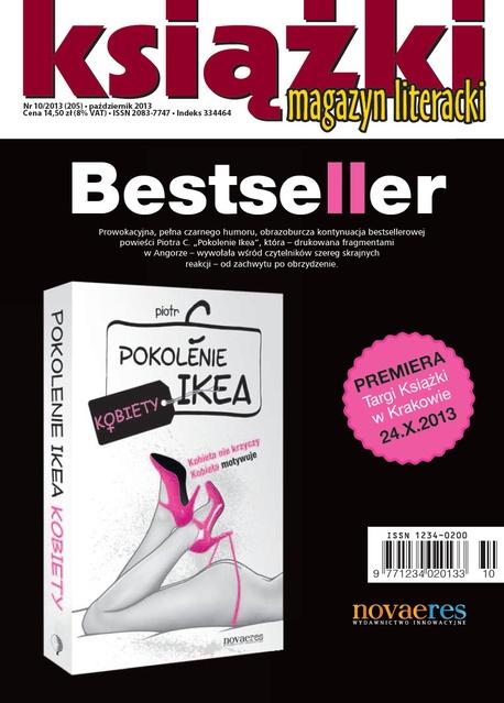 Magazyn Literacki Książki - Nr 10/2013 (205) - Opracowanie zbiorowe