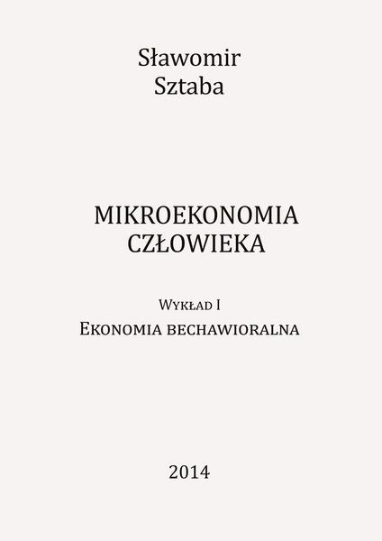 Mikroekonomia człowieka