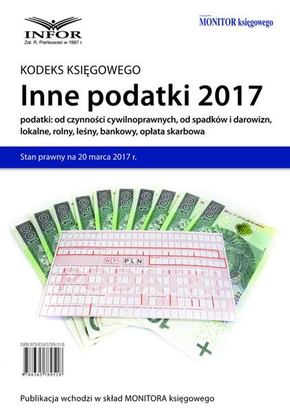 Inne podatki 2017