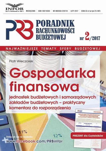 Gospodarka finansowa jednostek budżetowych i samorządowych zakładów budżetowych