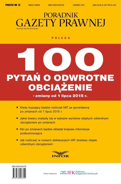 PODATKI NR 11 - 100 PYTAŃ O STAWKI VAT wydanie internetowe