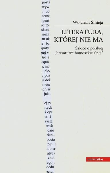 Literatura, której nie ma