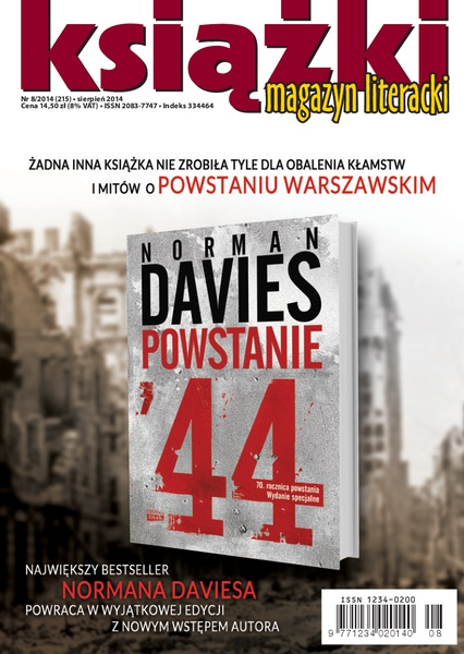 Magazyn Literacki Książki - nr 8/2014