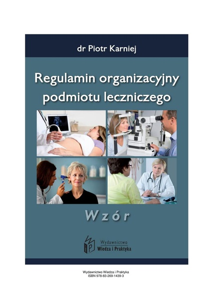 Regulamin organizacyjny podmiotu leczniczego - wzór