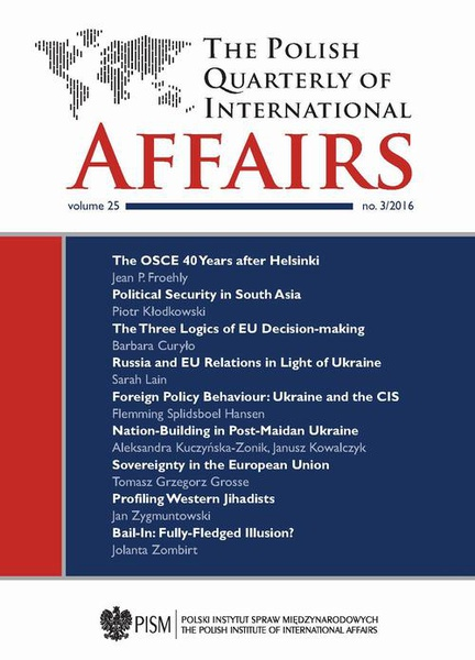 The Polish Quarterly of International Affairs 3/2016
