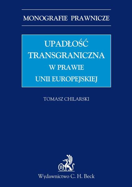 Upadłość transgraniczna w prawie UE