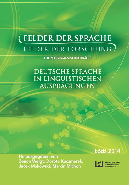 Felder der Sprache - Felder der Forschung