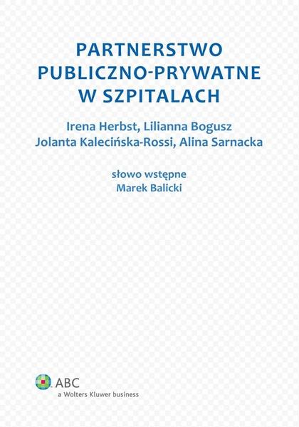Partnerstwo publiczno-prywatne w szpitalach