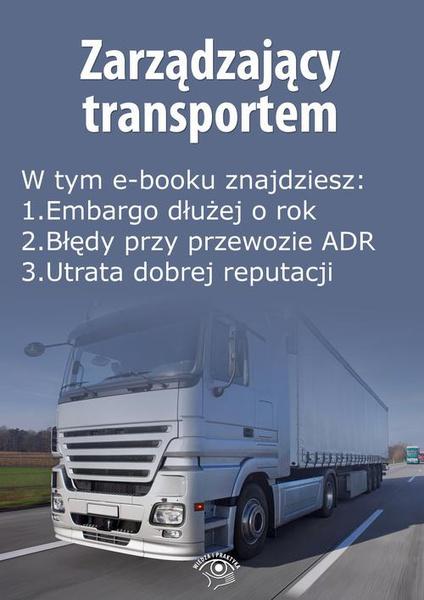 Zarządzający transportem, wydanie lipiec 2015 r.