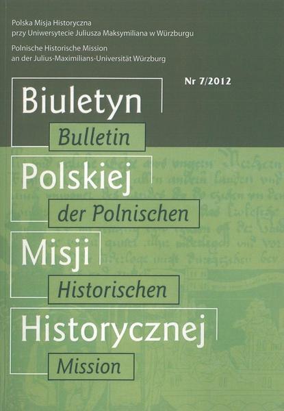 Biuletyn Polskiej Misji Historycznej
