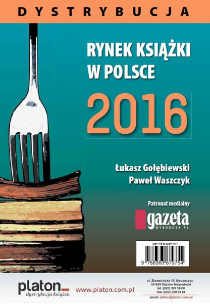 Rynek ksiązki w Polsce 2016. Dystrybucja