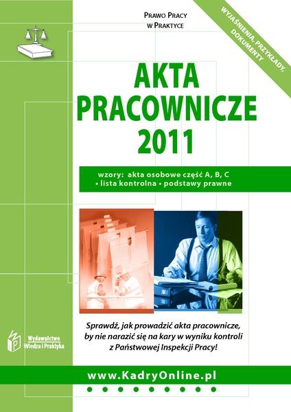Akta pracownicze 2011