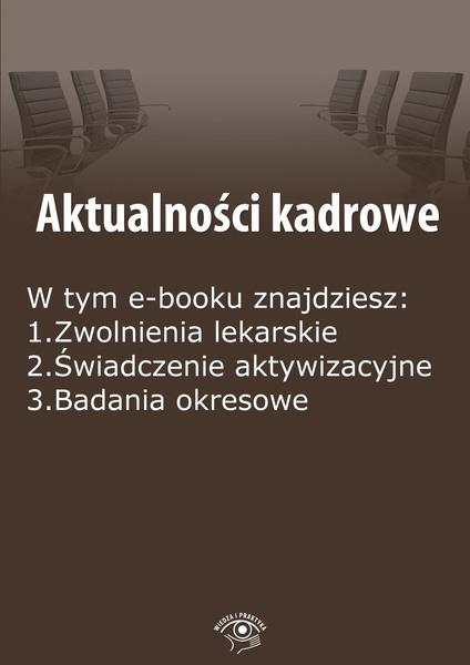 Aktualności kadrowe, wydanie wrzesień-październik 2014 r.