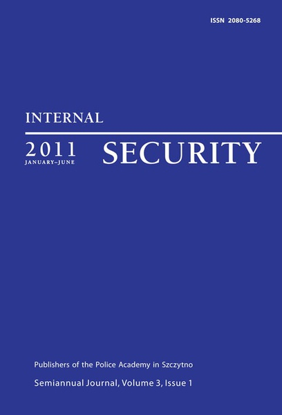 Internal Security, January-June 2011