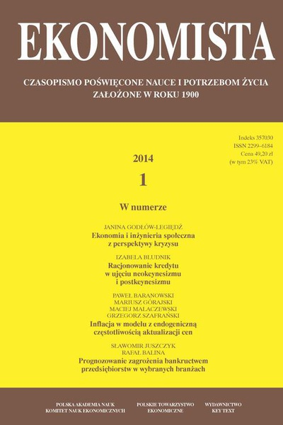 Ekonomista 2014 nr 1