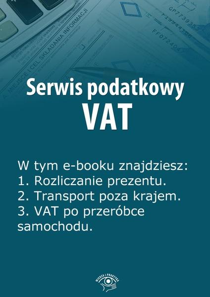 Serwis podatkowy VAT. Wydanie styczeń 2014 r.