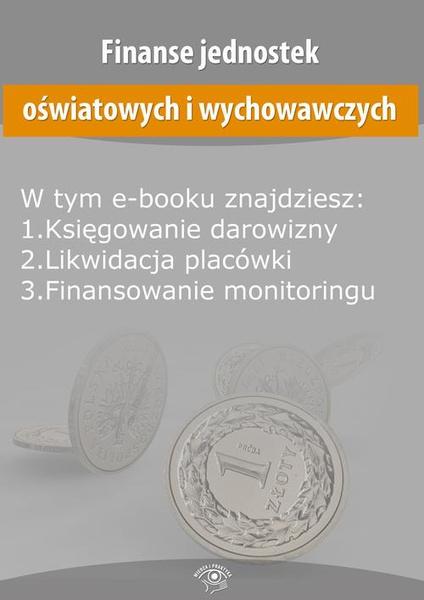 Finanse jednostek oświatowych i wychowawczych, wydanie październik 2014 r.