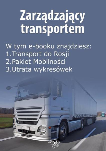 Zarządzający transportem, wydanie maj 2016 r.