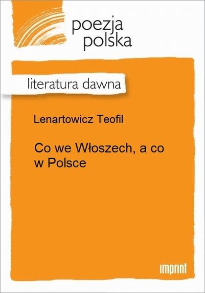 Co we Włoszech, a co w Polsce