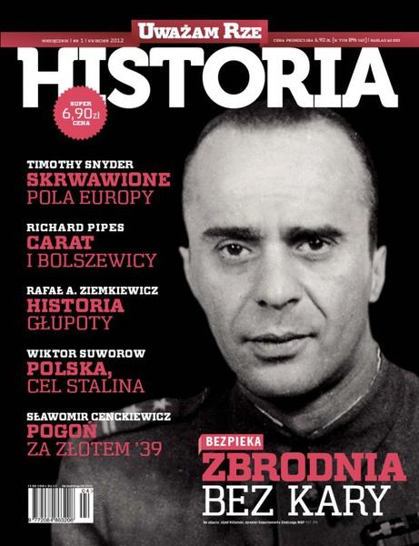 """""""Uważam Rze Historia"""" nr 12012"""