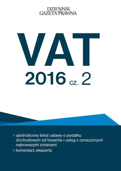 VAT 2016 cz. 2