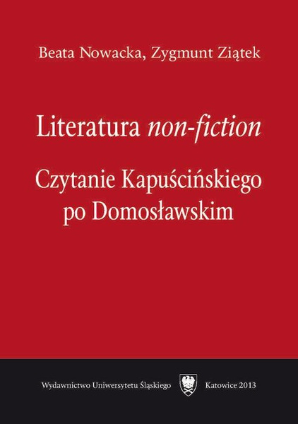 "Literatura ""non-fiction"""