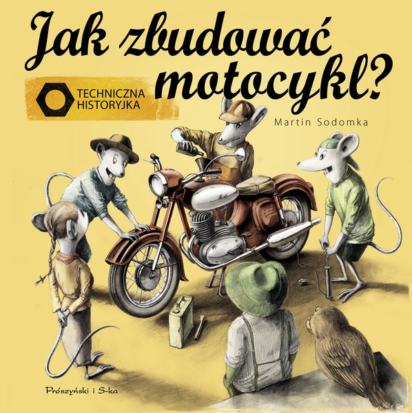 Jak zbudować motocykl ?