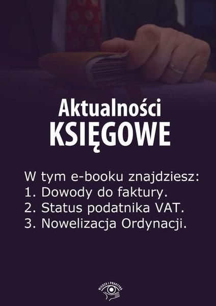 Aktualności księgowe, wydanie czerwiec 2014 r.
