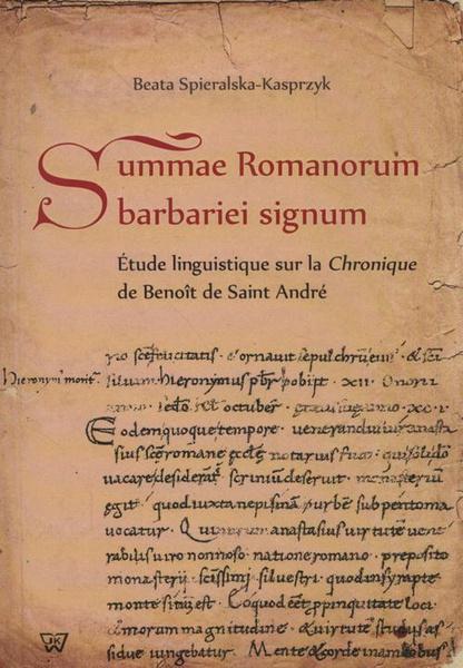 Summae Romanorum barbariei signum