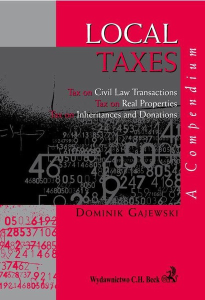 Local Taxes. A compendium