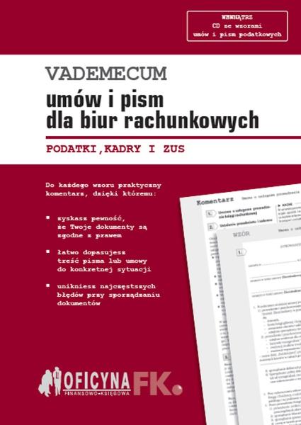 Vademecum umów i pism dla biur rachunkowych - stan prawny na 1 stycznia 2016