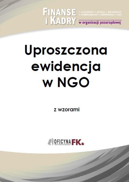 Uproszczona ewidencja w NGO z wzorami
