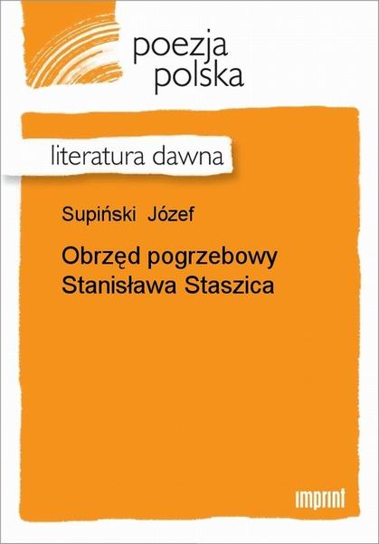 Obrzęd pogrzebowy Stanisława Staszica