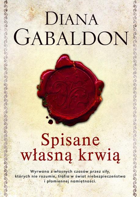 Spisane własną krwią - Diana Gabaldon