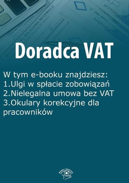 Doradca VAT, wydanie sierpień-wrzesień 2015 r.