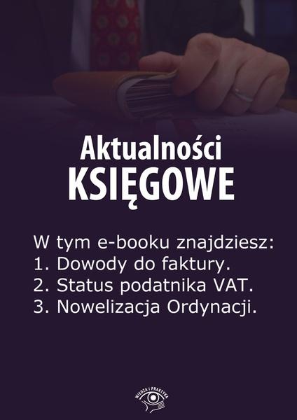 Aktualności księgowe. Wydanie czerwiec 2014 r.