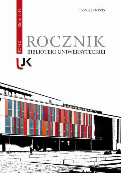 Rocznik Biblioteki Uniwersyteckiej, t. 2