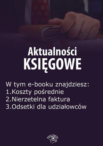 Aktualności księgowe, wydanie maj 2016 r.