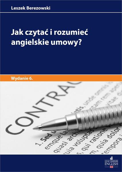 Jak czytać i rozumieć angielskie umowy? Wydanie 5