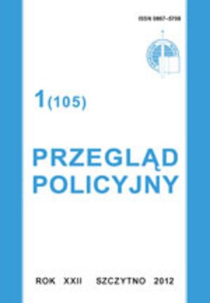 Przegląd Policyjny, nr 1(105) 2012