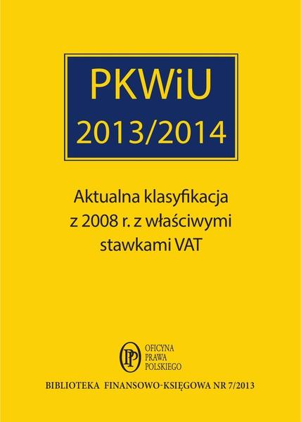 PKWiU 2013