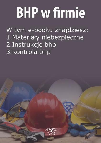 BHP w firmie, wydanie listopad 2014 r.