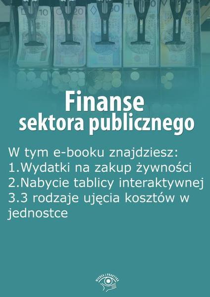 Finanse sektora publicznego, wydanie lipiec 2016 r.