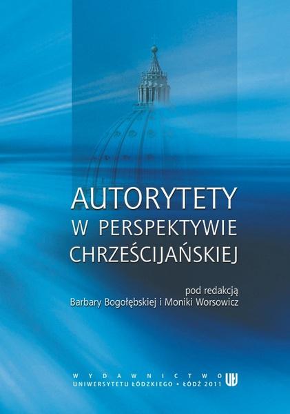 Autorytety w perspektywie chrześcijańskiej