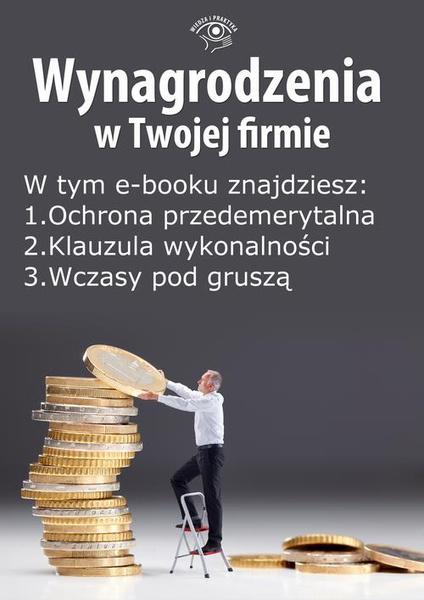 Wynagrodzenia w Twojej firmie, wydanie lipiec 2014 r. część I