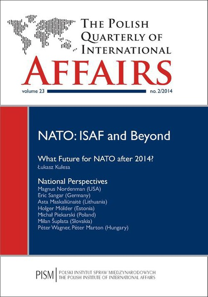 The Polish Quarterly of International Affairs nr 2/2014